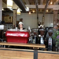 Photo taken at Brooklyn Roasting Company by Sonny V. on 4/27/2012