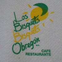 Photo taken at Los Bisquets Bisquets Obregón by Fabricio M. on 7/29/2012