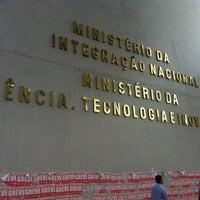 Photo taken at Ministério da Ciência, Tecnologia e Inovação by Gustavo Z. on 8/29/2012