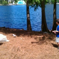 Photo taken at Lake Eola Playground by Rick M. on 5/27/2012