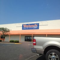 Photo taken at Weekends Only Furniture Outlet by Gary A. on 7/13/2012