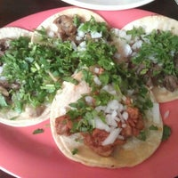 Photo taken at Tacos Matamoros by Johnny T. on 7/21/2012