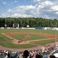 Photo taken at Dutchess Stadium by Nicole W. on 7/1/2012