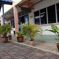 Photo taken at SMK Gajah Berang by Ian Choo T. on 3/21/2012