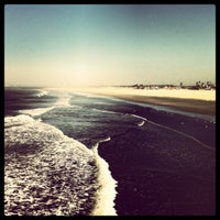 Photo taken at Seal Beach by Dan T. on 3/2/2012