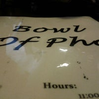 Photo taken at Bowl of Pho by Quoc B. on 5/13/2012