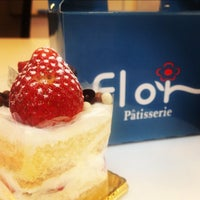 Photo taken at Flor Patisserie by Christine T. on 3/30/2012
