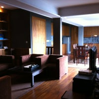 Photo taken at LUXX XL Hotel by Jared C. on 2/27/2012