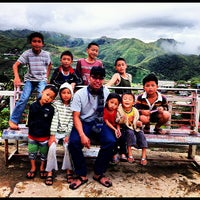 Photo taken at Pekan Kundasang by Raden A. on 7/25/2012
