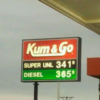 Photo taken at Kum & Go by Olivia J. on 6/15/2012