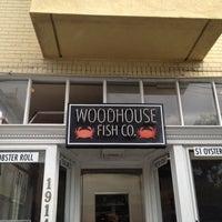 Photo taken at Woodhouse Fish Co. by Jen L. on 2/19/2012