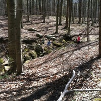 Photo taken at Loch Raven Trail by Leslie F. on 4/6/2012