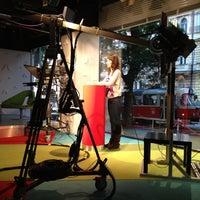 Photo taken at Metropol TV by Jan M. on 10/2/2012