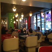 Photo taken at Café Étienne Marcel by Julie D. on 3/10/2013