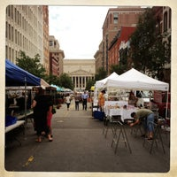 Photo taken at Penn Quarter FRESHFARM Market by Katalin E. on 6/20/2013