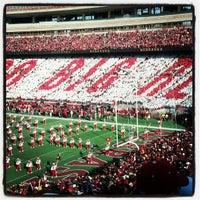 Photo taken at Memorial Stadium by Garrick B. on 11/17/2012