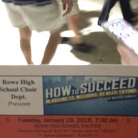 Photo taken at Nikki Rowe High School by Nicole A. on 1/20/2016