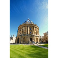 Photo taken at Radcliffe Camera by Panakrit E. on 6/6/2013