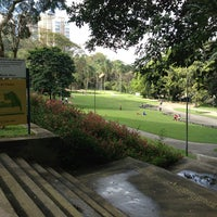 Photo taken at Parque Burle Marx by Ana Katalina T. on 7/21/2013