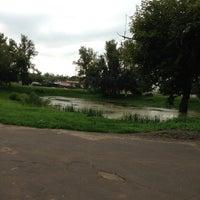 Photo taken at Пруд #3 by Екатерина К. on 7/29/2013