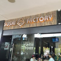 Photo taken at Sushi Factory by Lorena M. on 7/7/2013