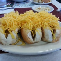 Photo taken at Gold Star Chili by Andy C. on 1/19/2013