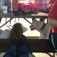 Photo taken at West Dog Park by Cara D. on 12/23/2012