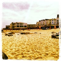 Photo taken at Long Branch Beach by Stephanie D. on 8/15/2013