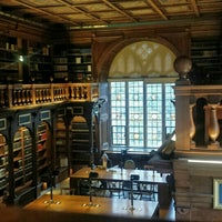 Photo taken at Duke Humfrey's Library by Umika P. on 11/17/2015