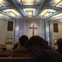 Photo taken at Shrine of the Most Holy Redeemer by Raciel D. on 11/17/2013
