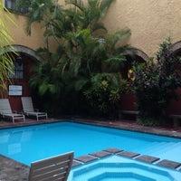 Photo taken at De Mendoza Hotel by Luis P. on 7/24/2013