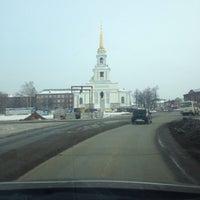 Photo taken at Набережная Воткинского пруда by Alex B. on 3/2/2014