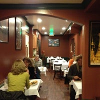 Photo taken at Lotus Thai Bistro by Christina C. on 2/6/2013