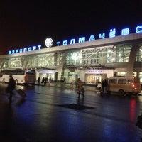Photo taken at Tolmachevo International Airport (OVB) by Андрей Х. on 11/15/2013