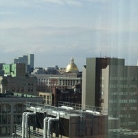 Photo taken at Hyatt Regency Boston by Scott H. on 4/10/2013
