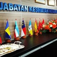 Photo taken at Jabatan Kesihatan Negeri Kelantan by Derrick L. on 12/8/2014
