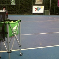 Photo taken at Hillside City Club Tennis Court by Belguzar Seren T. on 8/2/2013