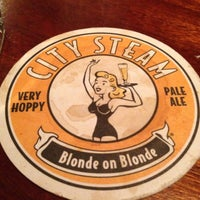Photo taken at City Steam Brewery by Mike F. on 4/26/2013
