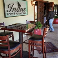 Photo taken at Indus Indian and Herbal Cuisine by New Times Broward Palm Beach on 8/18/2014
