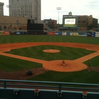 Photo taken at Fifth Third Field by Erin E. on 8/5/2013