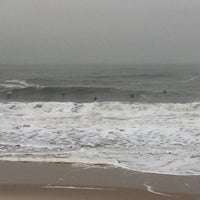 Photo taken at Mantoloking Beach by Michael L. on 12/29/2015