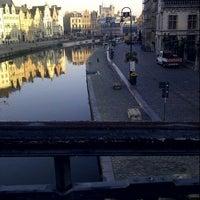 Photo taken at Sint-Michielsbrug by Diego d. on 10/9/2012