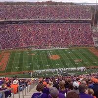 Photo taken at Frank Howard Field at Clemson Memorial Stadium by Dean R. on 11/23/2013
