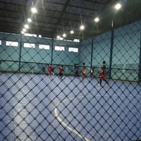 Photo taken at YPKP Indoor Soccer Center by Sya N. on 4/18/2014
