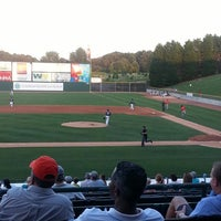Photo taken at Knights Stadium by Jacob V. on 8/30/2013