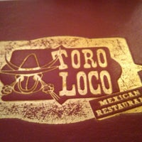 Photo taken at Toro Loco Mexican Restaurant by Jon M. on 5/5/2014