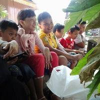 Photo taken at Anjungan Sumatera Utara by Dahlia L. on 8/25/2013