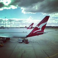 Photo taken at Melbourne Airport (MEL) by Brenden B. on 5/19/2013