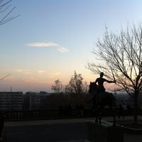 Photo taken at Meridian Hill Park by Armie on 12/8/2012