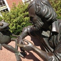 Photo taken at Jim Henson Statue by Armie on 9/26/2013